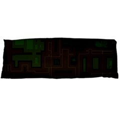 Circuit Board A Completely Seamless Background Design Body Pillow Case (Dakimakura)