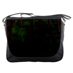 Circuit Board A Completely Seamless Background Design Messenger Bags