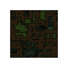 Circuit Board A Completely Seamless Background Design Acrylic Tangram Puzzle (4  x 4 )
