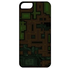 Circuit Board A Completely Seamless Background Design Apple iPhone 5 Classic Hardshell Case