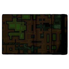 Circuit Board A Completely Seamless Background Design Apple iPad 3/4 Flip Case