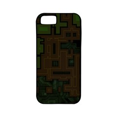 Circuit Board A Completely Seamless Background Design Apple Iphone 5 Classic Hardshell Case (pc+silicone)
