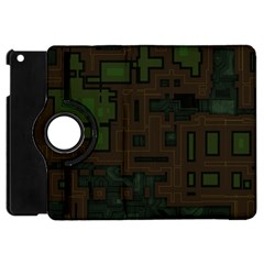 Circuit Board A Completely Seamless Background Design Apple iPad Mini Flip 360 Case