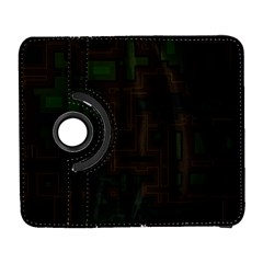Circuit Board A Completely Seamless Background Design Galaxy S3 (Flip/Folio)