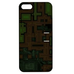Circuit Board A Completely Seamless Background Design Apple Iphone 5 Hardshell Case With Stand