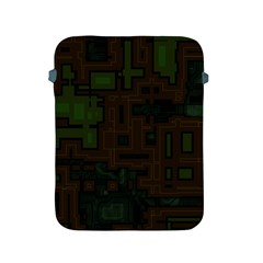 Circuit Board A Completely Seamless Background Design Apple iPad 2/3/4 Protective Soft Cases