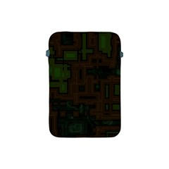 Circuit Board A Completely Seamless Background Design Apple iPad Mini Protective Soft Cases