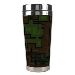 Circuit Board A Completely Seamless Background Design Stainless Steel Travel Tumblers