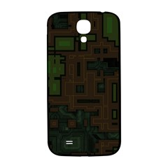 Circuit Board A Completely Seamless Background Design Samsung Galaxy S4 I9500/I9505  Hardshell Back Case