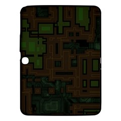 Circuit Board A Completely Seamless Background Design Samsung Galaxy Tab 3 (10.1 ) P5200 Hardshell Case