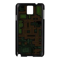 Circuit Board A Completely Seamless Background Design Samsung Galaxy Note 3 N9005 Case (black)