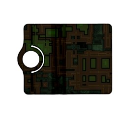 Circuit Board A Completely Seamless Background Design Kindle Fire HD (2013) Flip 360 Case