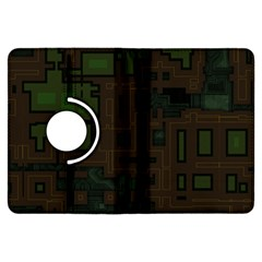 Circuit Board A Completely Seamless Background Design Kindle Fire HDX Flip 360 Case