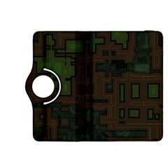 Circuit Board A Completely Seamless Background Design Kindle Fire HDX 8.9  Flip 360 Case