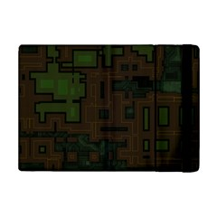 Circuit Board A Completely Seamless Background Design iPad Mini 2 Flip Cases