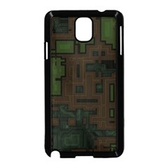 Circuit Board A Completely Seamless Background Design Samsung Galaxy Note 3 Neo Hardshell Case (Black)