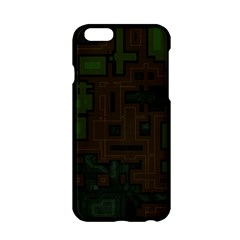 Circuit Board A Completely Seamless Background Design Apple iPhone 6/6S Hardshell Case