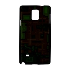 Circuit Board A Completely Seamless Background Design Samsung Galaxy Note 4 Hardshell Case
