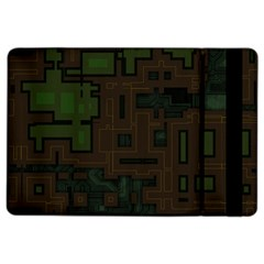 Circuit Board A Completely Seamless Background Design iPad Air 2 Flip