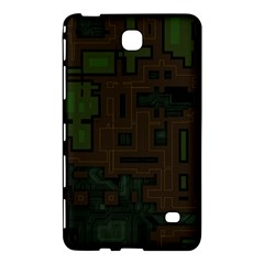 Circuit Board A Completely Seamless Background Design Samsung Galaxy Tab 4 (7 ) Hardshell Case