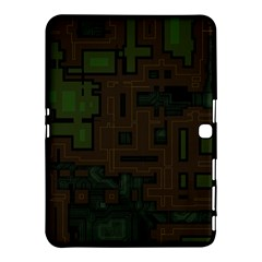 Circuit Board A Completely Seamless Background Design Samsung Galaxy Tab 4 (10.1 ) Hardshell Case