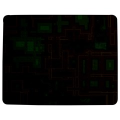 Circuit Board A Completely Seamless Background Design Jigsaw Puzzle Photo Stand (Rectangular)