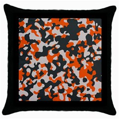 Camouflage Texture Patterns Throw Pillow Case (Black)