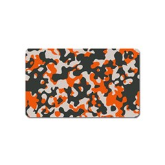 Camouflage Texture Patterns Magnet (Name Card)