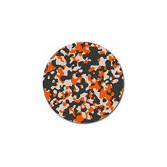 Camouflage Texture Patterns Golf Ball Marker (10 pack)