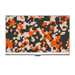 Camouflage Texture Patterns Business Card Holders