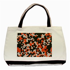 Camouflage Texture Patterns Basic Tote Bag (two Sides)