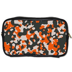 Camouflage Texture Patterns Toiletries Bags 2 Side