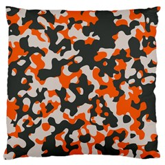 Camouflage Texture Patterns Large Cushion Case (Two Sides)