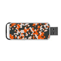 Camouflage Texture Patterns Portable USB Flash (One Side)