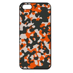 Camouflage Texture Patterns Apple iPhone 5 Seamless Case (Black)