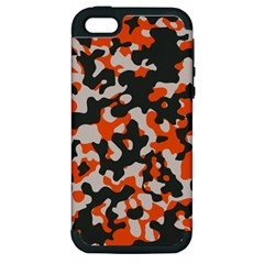 Camouflage Texture Patterns Apple iPhone 5 Hardshell Case (PC+Silicone)