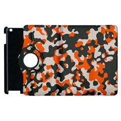Camouflage Texture Patterns Apple iPad 3/4 Flip 360 Case