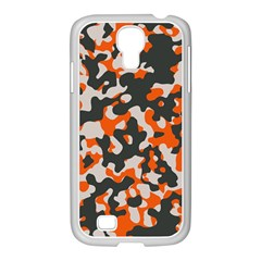 Camouflage Texture Patterns Samsung GALAXY S4 I9500/ I9505 Case (White)