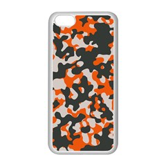 Camouflage Texture Patterns Apple iPhone 5C Seamless Case (White)