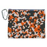 Camouflage Texture Patterns Canvas Cosmetic Bag (XXL) Front