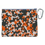 Camouflage Texture Patterns Canvas Cosmetic Bag (XXL) Back