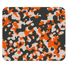 Camouflage Texture Patterns Double Sided Flano Blanket (Small)