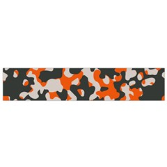 Camouflage Texture Patterns Flano Scarf (Small)