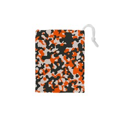 Camouflage Texture Patterns Drawstring Pouches (xs)