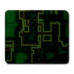 A Completely Seamless Background Design Circuit Board Large Mousepads