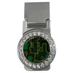 A Completely Seamless Background Design Circuit Board Money Clips (CZ)