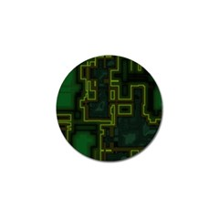 A Completely Seamless Background Design Circuit Board Golf Ball Marker (10 pack)
