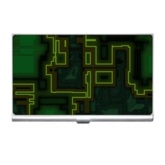 A Completely Seamless Background Design Circuit Board Business Card Holders