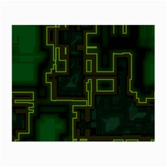 A Completely Seamless Background Design Circuit Board Small Glasses Cloth
