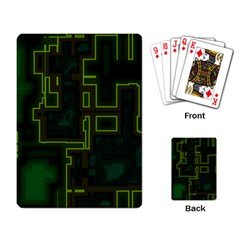A Completely Seamless Background Design Circuit Board Playing Card